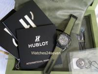 Hublot Classic Aero Fusion Ceramic Chronograph Hope for