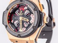 Hublot King Power Unico GMT Automatic 18k Rose Gold