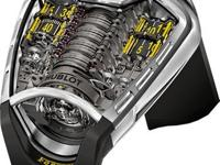 Engine: Hublot Caliber HUB9005.H1.6,. Beats at 21,600