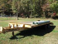 1993 10 Ton 25 Foot long Hudson Trailer. Excellent