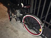 I have a virtually brand new Huffy motor-bike for sale