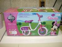 "Huffy 10"" Girls Disney Minnie Computer mouse Bow-tique"