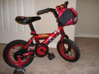 Boys Huffy 16 inch bike; Disney Pixar Cars 2 In