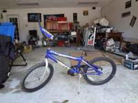 20 inch huffy bike in good shape 20.00 call joe at or