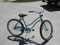 "Huffy 26 inch ""Good Vibrations"" ladies bike. tires 26 x"