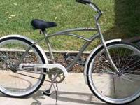 This is a Huffy Cranbrook 26 inch Beach Cruiser Bike.