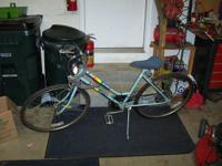 Here is an older Huffy bicycle for sale.  This bicycle