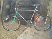 selling my huffy biclycle good shape asking 50 dillars