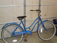 This is a Huffy Good Vibrations Bicycle. If you are