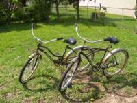 "Good condition Man & Womans 26"" Huffy Bikes. Location:"