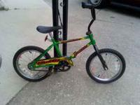 I HAVE A GREAT LOOKING SMALLER BIKE NOT A 16'' I