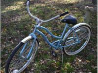 Large wheel white wall surface huffy bike. CONSIGNMENT