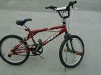 1 Huffy bmx bike , just needs cleaned up and 1 brake