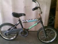 I am selling a Huffy Boys Bike. Tires are flat and a