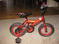 Excellent Condition Disney Cars Lightning McQueen bike