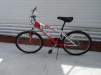 Girl Bike Huffy Stone Mountain, 18 speed, 24in. wheel.