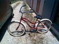 "red with white fenders black seat 26"" in harrison, ar"