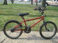 """Huffy Hot Wire single speed bike with 20"""" tires, rear"""