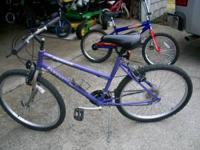 Bike is in ready to ride cond. It's an 18 speed with a