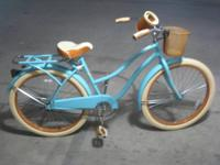 """This Huffy Deluxe 26753 26"" women's bike features a"