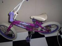 for sale huffy little girls bike...seems to work ok...