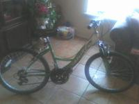 Selling a Nice Huffy Mountain Bike     18 Speeds: Front