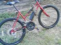 "Huffy Ontario 24"", 18 speed, Mountain Bike. Call Bobby"