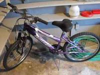 womens Huffy stone mountain bike 18 spd. needs new seat
