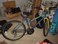 HUFFY LADIES MOUNTAIN BIKE EXCELLENT SHAPE,LIKE NEW 12