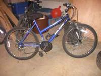 Huffy stone moutain 18 speed bike. Like new 26x1,95