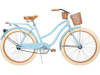 "Huffy Nel Lusso Ladys 26"" Cruiser Bike Gloss Blue When"