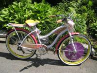 HUFFY PANAMA JACK BEACH CRUISER (Like new, never used,