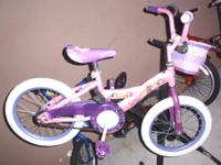 "HUFFY PRINCESS Little girl's BICYCLE, 16"", in perfect"