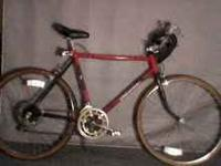 Beautiful black and red Huffy Wind Spirit, 12 Speed.