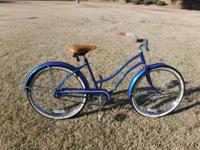 "Huffy Women's Good Vibrations 26"" Classic Cruiser"