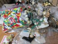 HUGE 11 POUND LOT OF VINTAGE to NOW COSTUME JEWELRY