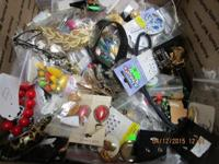 HUGE 13 POUND LOT OF VINTAGE to NOW COSTUME JEWELRY