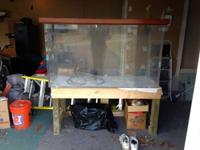 "187 gallon acrylic fish tank - 60""x24""x30"" - comes with"