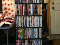 I have an assortment (100-130) of DVDs for sale. They