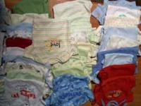 I have a huge lot of boys' baby clothes.about 230+