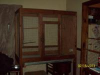 Looking to sell our huge pet cage. Was used as a