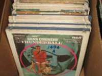 Huge Box of RCA SelectaVision VideoDiscs. Many great