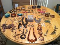 70 piece jewelry collection. Almost all from brand name