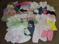 Have a package of Baby girl Items for $55.00 There's a
