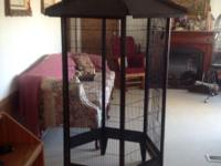 HUGE CAGE FOR SALE. ITS EITHER 5 FOOT OR 6 FOOT. I 'M