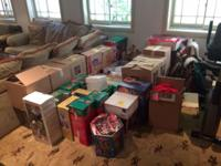 Selling hundreds of various antique christmas items