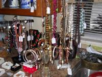 We have a huge amount of costume jewelry. There is