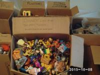 This is a huge lot of toys. Something for everyone.