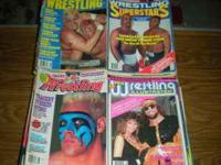 Huge collection of Wrestling magazines from 1986 to