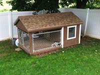 HUGE Custom made by Amish DOG KENNEL/Insulated Box. We